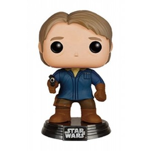 Funko - Pdf00005606 - Pop - Star Wars 7 - Han Solo - Version Neige 86 - Noir/Gris