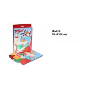 Disney Mosa�que de l'autocollant * L'unit� / Model al�atoire * Mosa�que/fille/jeux cr�atif/loisir 3+ (PLANES)