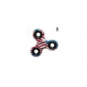Fidget Spinner   Hand Spinner   Infinitoo Spinner en Alliage de Zinc 3-5 Mins  Main Finger Triangulaire Toupie Color� M�tallis�