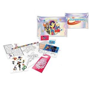 kit papeterie 12 pièces DC SuperHero Girls - NEUF