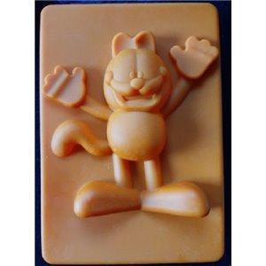 Moule en Silicone Garfield / Moule Garfield - 20x13x5 cm - Orange - NEUF - Décoration de gâteau