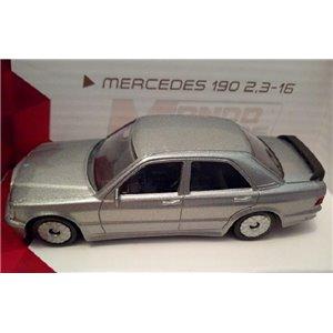 MERCEDES 190 2,3-16 Grise Métal Ech.1/43 Mondo Motors vintage Design Italian