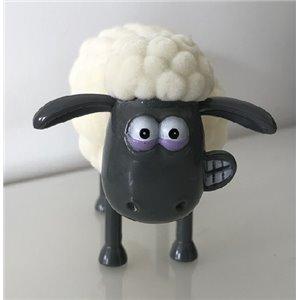 Figurine SHAUN le mouton tête-à-ressort  - 7 x 14.5cm - NEUF - WALLACE ET GROMIT