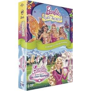Porte secrète + Barbie et Ses Soeurs au Club hippique COFFRET DVD NEUF
