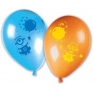 8 Ballons en Latex Minions Ballons Party