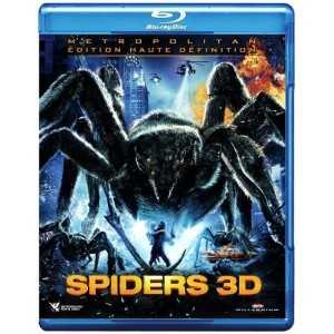 Spiders 3D BLU-RAY NEUF