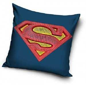 SUPERMAN DC Comics : Housse de Coussin / Taie d'oreiller 40x40cm -  NEUF