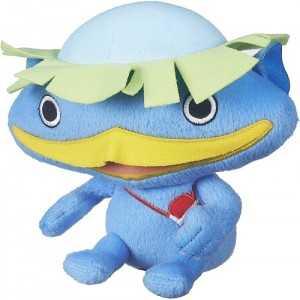 YO-KAI WATCH - Peluche WALKAPPA (18cm environ) Bleu - NEUF