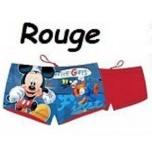 Maillot de bain Mickey Disney pour garçon, forme Boxer - NEUF - taille 3 a 8 ans