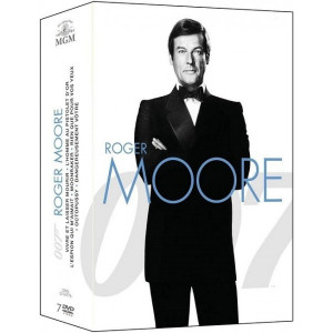 Roger Moore COFFRET 7 DVD NEUF