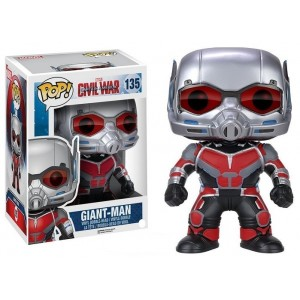 Funko - POP Marvel - Cap America 3 - 6  Giant Man