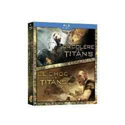 Le Choc des Titans + La colère des Titans COFFRET BLU-RAY NEUF